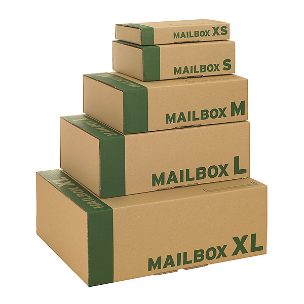 Mailboxkarton | Mailbox | Post-Versandkarton | Postversandkartons | Versandkarton | Kartonversand24.de